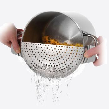 Westmark stainless steel pot strainer 33.7x13x0.9cm
