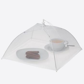 Westmark plastic foldable food cover white 34x34cm