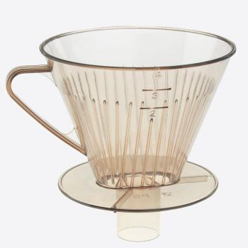 Westmark plastic coffee filter with funnel transparent 16x13.4x13.5cm