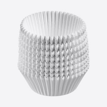 Westmark set of 80 paper muffin baking cups white ø 5cm H 3.2cm