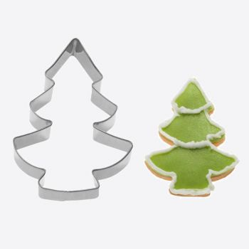 Westmark stainless steel cookie cutter Christmas tree 8.1x5.7x2.2cm