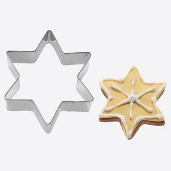 Westmark stainless steel cookie cutter star 8.5x3.7x2.2cm