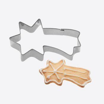 Westmark stainless steel cookie cutter falling star 7.3x4.1x2.2cm