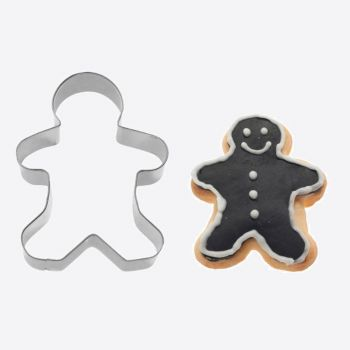 Westmark stainless steel cookie cutter gingerman 6.2x4.8x2.2cm