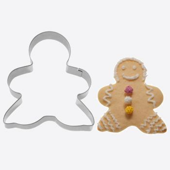 Westmark stainless steel cookie cutter gingerman 7.8x6.3x2.2cm