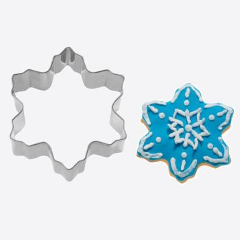 Westmark stainless steel cookie cutter snow flake 5.9x5.9x2.2cm