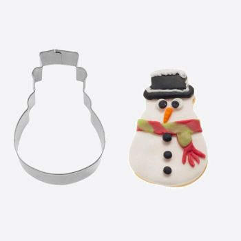 Westmark stainless steel cookie cutter snow man 6x3.8x2.2cm