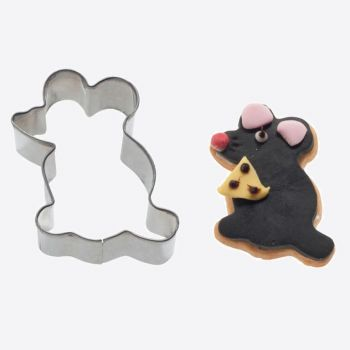 Westmark stainless steel cookie cutter mouse 5.5x3.7x2.2cm