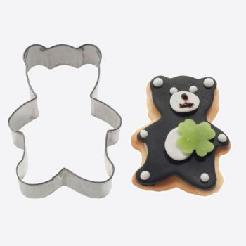 Westmark stainless steel cookie cutter bear 8.6x6.4x2.2cm