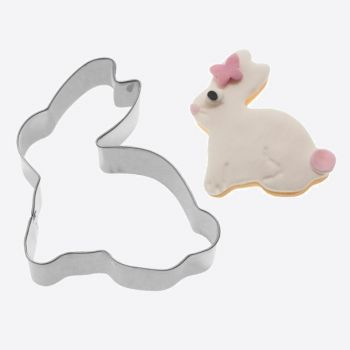 Westmark stainless steel cookie cutter bunny 6.3x6.2x 2.2cm