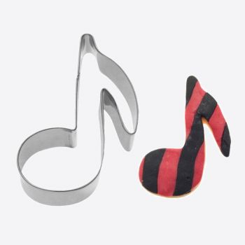 Westmark stainless steel cookie cutter music note 7x5.2x2.2cm