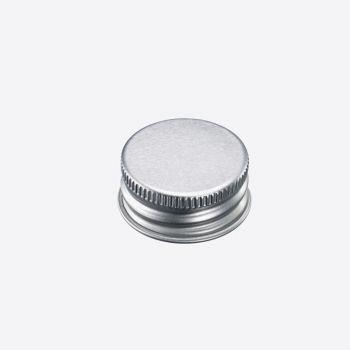 Westmark set of 10 silver screw lids Ø 2.8cm