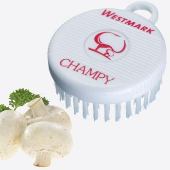Westmark Champy plastic mushroom brush white 7.8x6x2.7cm