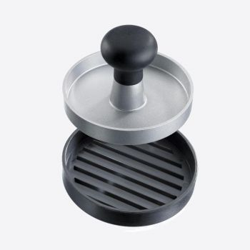 Westmark Uno hamburger press in aluminum and plastic black Ø 11.5cm H 8cm