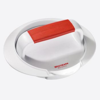 Westmark plastic hamburger press white and red 16x14.3x5.7cm