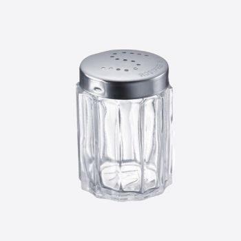 Westmark Traditionell salt shaker in glass and stainless steel ø 3.7cm H 7cm (per 10pcs)