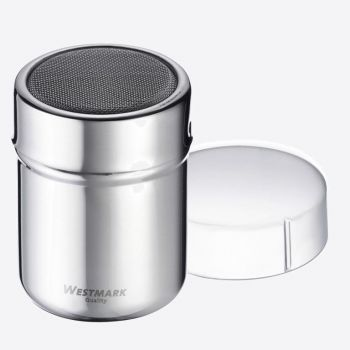 Westmark stainless steel flour sifter with lid Ø 6.2cm H 8.2cm