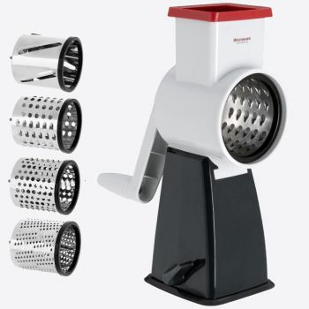 Westmark drum grater with 4 grating drums in plastic and stainless steel 19x11.5x28cm