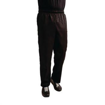 Whites Easyfit Teflon unisex koksbroek zwart XL