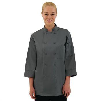 Chef Works unisex koksbuis grijs XXL