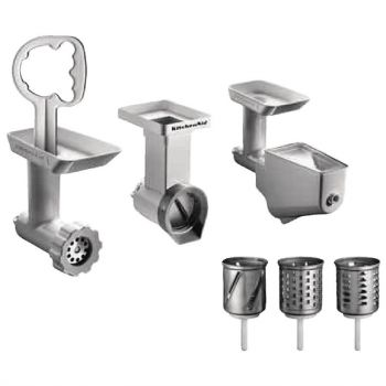 KitchenAid 6-delige accessoireset voor KitchenAid mixers