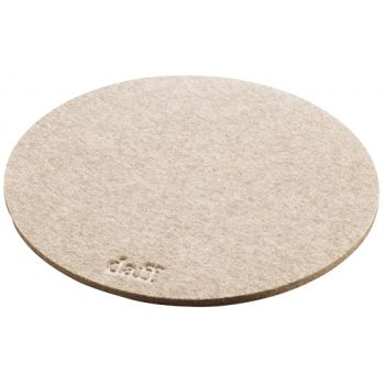 Daff Coaster Round 20 cm. Pebble mel.