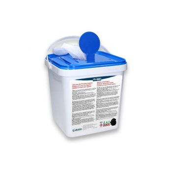 Healthinfi Hygiene Bucket with Alcohol Swaps 50 % Alcohol