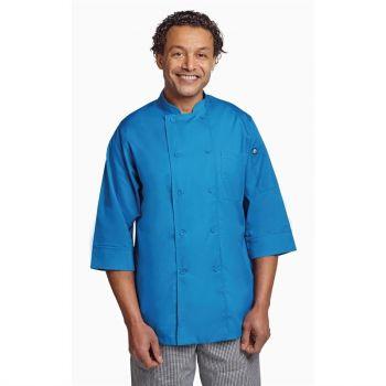 Chef Works unisex koksbuis blauw XXL