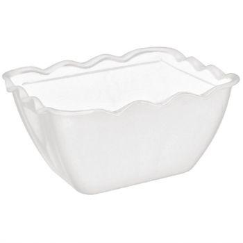 Kristallon buffetschaal wit 0.75L