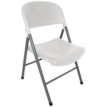 Bolero opklapbare stoelen wit
