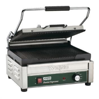 Waring dubbele paninigrill - groef/groef