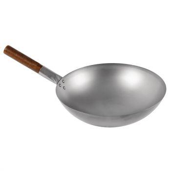 London Wok wok met ronde bodem 38cm
