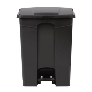 Jantex afvalemmer zwart 65L