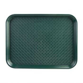 Kristallon dienblad groen 34.5x26.5cm
