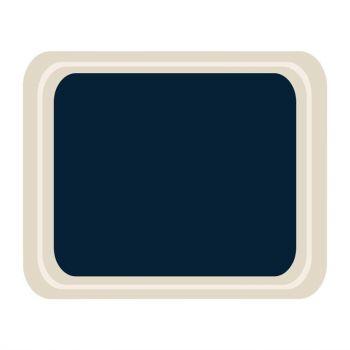 Roltex Original dienblad blauw 42x32cm