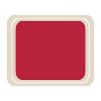 Roltex Original dienblad rood 42x32cm