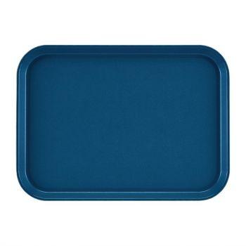 Cambro Epictread rechthoekig antislip glasvezel dienblad blauw 35x27cm