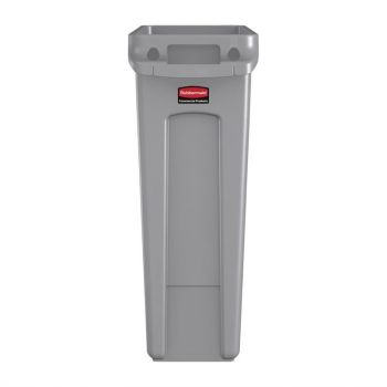 Rubbermaid Slim Jim container met luchtsleuven 87L