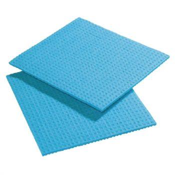Spongyl sponsdoekje blauw