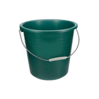 Curver Bucket Budget Metal Green 13l D32xh29cm