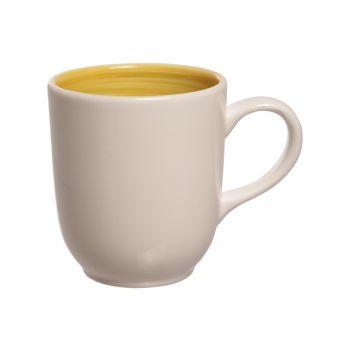 Cosy & Trendy Turbolino Yellow Mug 35cl D8,5xh10cm