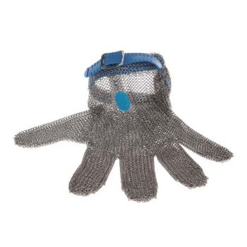 Arcos Protective Glove Large Metal Blue Sl