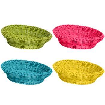 Cosy & Trendy Vivo Basket Rect D25,5xh8 Plastic 4 Types