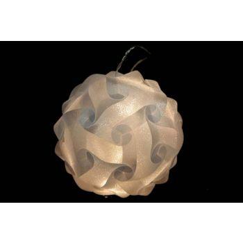Cosy @ Home Light Ball Design 25cm 16l Blanc Chaud