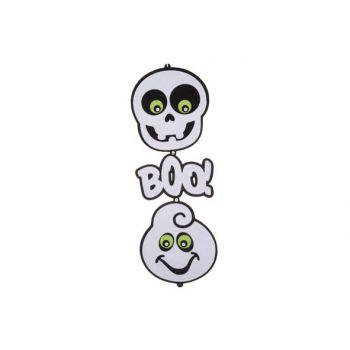 Cosy @ Home Hanger 2 Ghosts Black White 75cm Felt