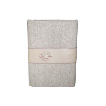 Cosy @ Home Fabric Cotton Light Grey 1.5x2m