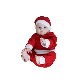 Cosy @ Home Xmas Costume Onesie With Hat 1-2yr