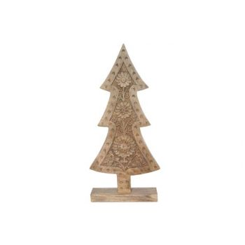 Cosy @ Home X-mas Tree Engraving Nature Wood