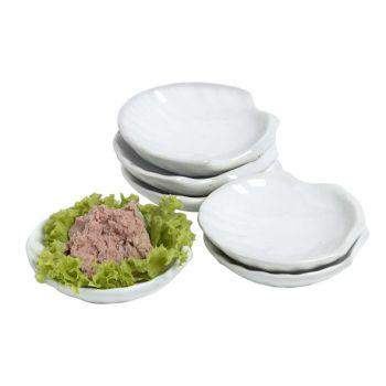 Cosy & Trendy Apero Dish Shellshape Set 6 7x7.5cm