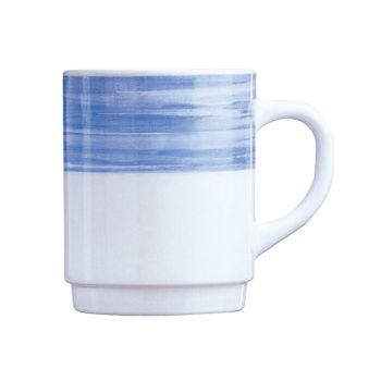 Arcoroc Brush Mug Blue 25cl